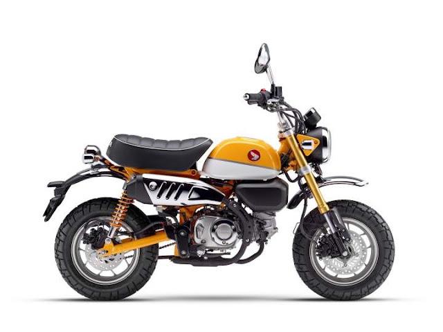 Honda Monkey Banana Yellow