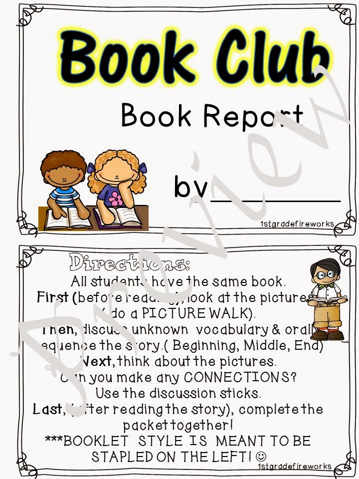 Booklet Book Clubs