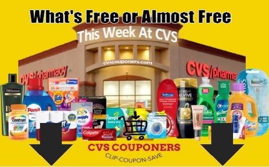 what's free or almost free this week at cvs