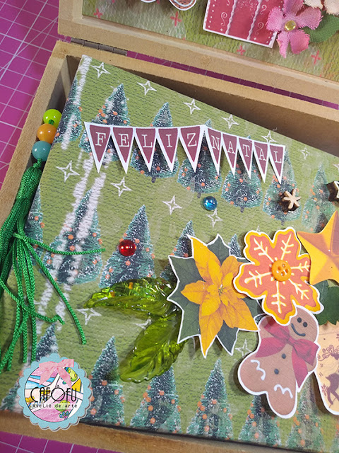 SCRAPBOOKING MINI ALBUM DE NATAL