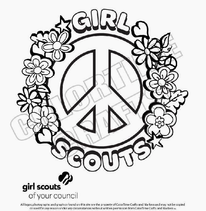 Girl scout coloring pages printable sketch coloring page for Girl scout coloring page