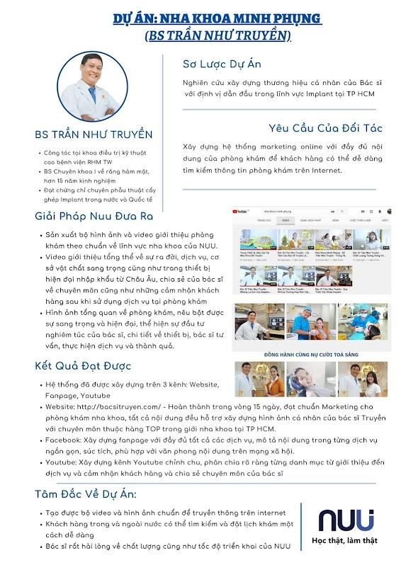 Dự án marketing online cho phòng khám nha khoa