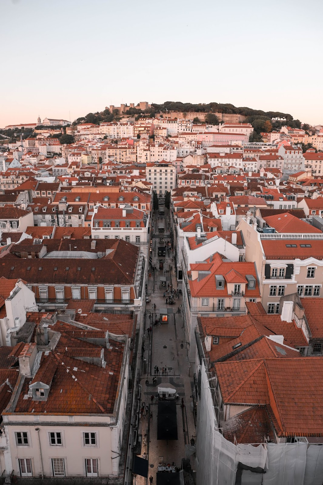 View from the Santa Justa Lift | Tips and Tricks