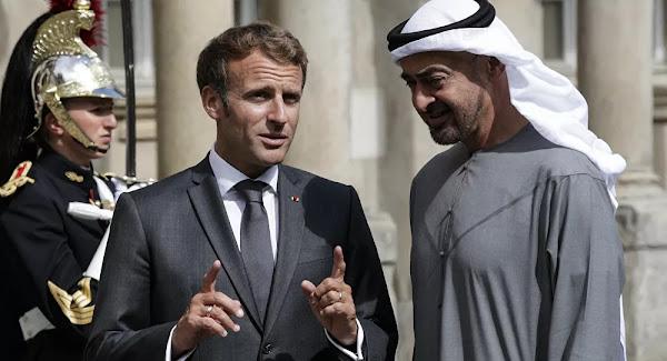 """Macron-Mohammed ben Zayed """" ministre de la Défense d'Abou Dhabi """": le mariage parfait?"""