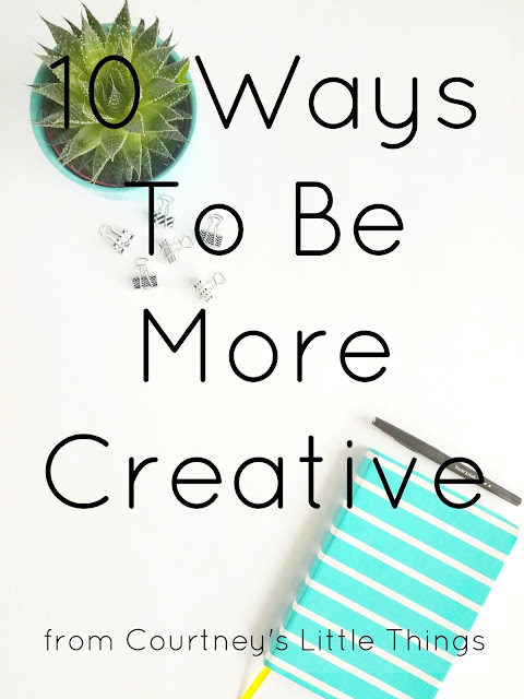 ways to be more creative everyday