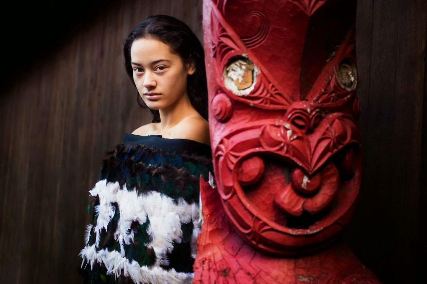 Maori Marae, New Zealand - I Photographed Women From 37 Countries To Show That Beauty Is Everywhere