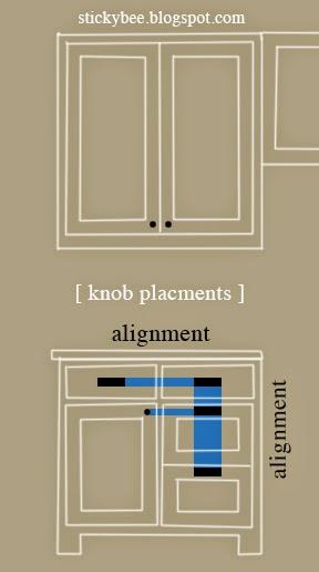 Renovation week 32 | cabinet knob shopping | Sticky Bee