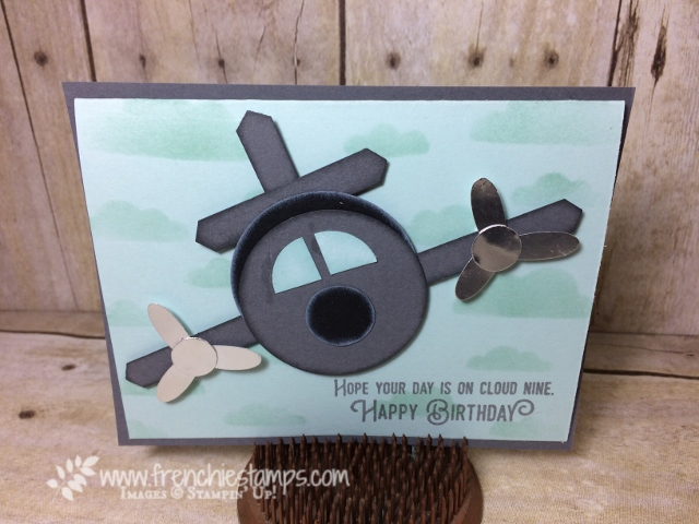 Airplane Punch Art, Stampin'Up! Punch, Daisy Punch, Classic Label Punch, Circle Punch, Life me Up,