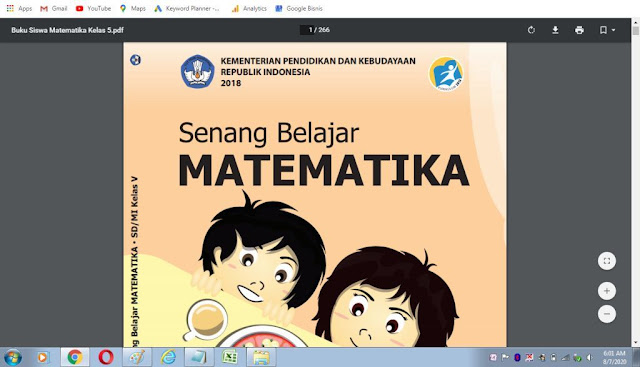Buku Siswa Matematika Kelas 5 SD/MI K-13