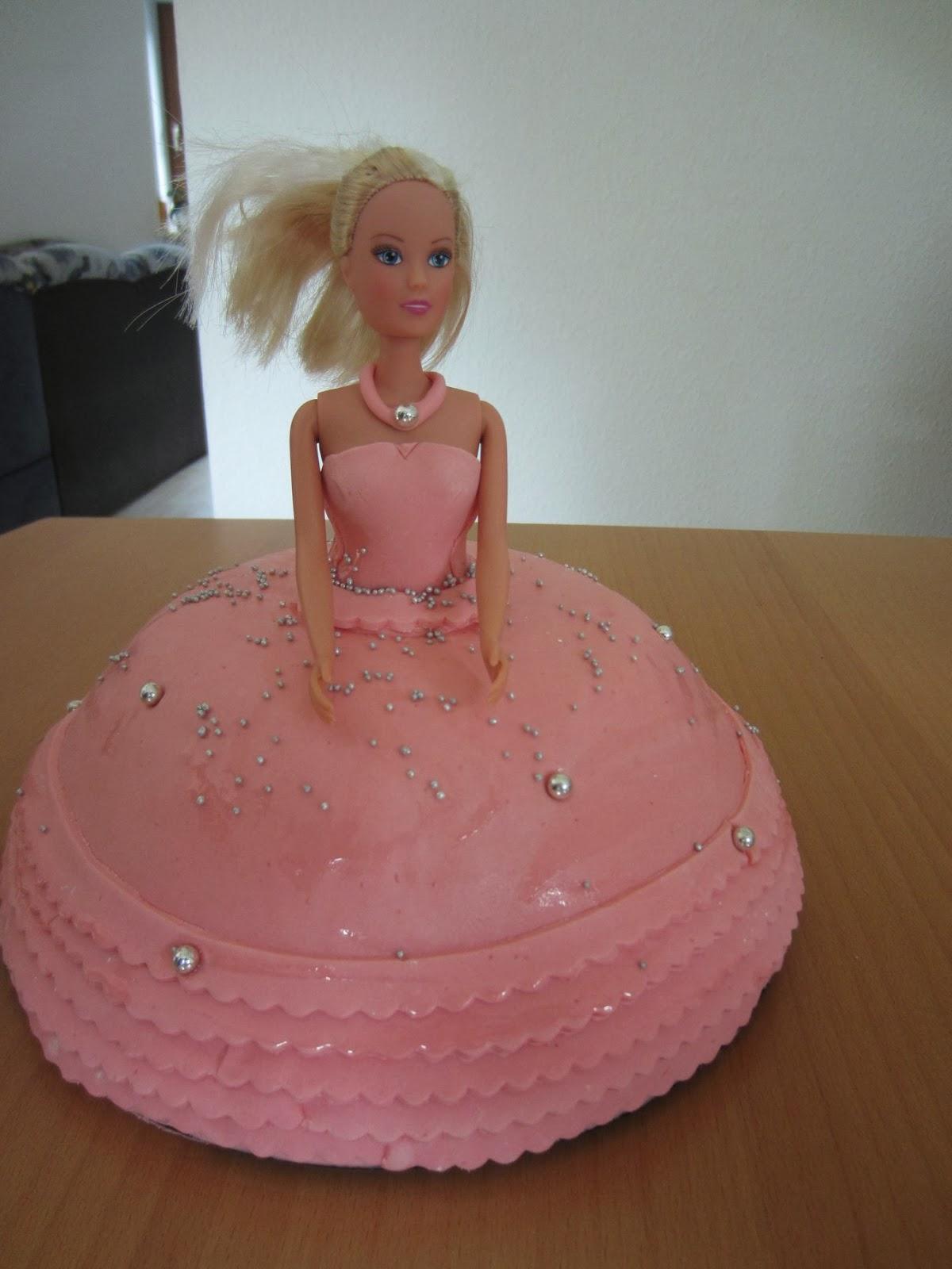 Barbie Torte Selber Machen Kuchen Selber Machen Kindergeburtstag