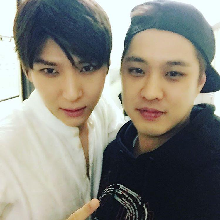 160504 [TWITTER/INSTAGRAM] Seungho Tweet & Instagram + Photo with