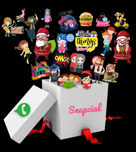 #NO 1 Animated Stickers for WhatsApp app with 11000+ stickers and Personal Sticker Maker within same app.
