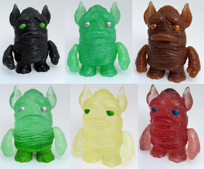 The Squonk Resin Figure by Motorbot - Black, Jade, Root Beer, Slime, Cream Soda & Red