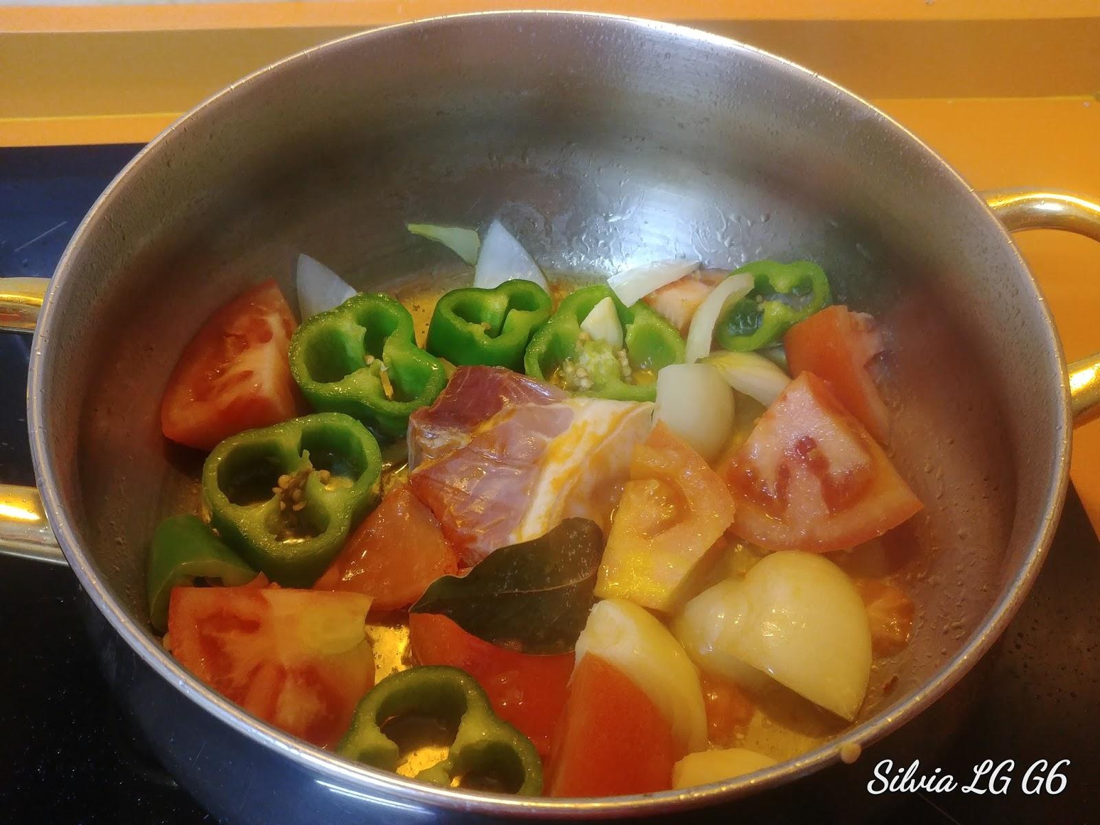 La cocina f cil de silvia potaje de alubias pintas con arroz for Como cocinar alubias pintas