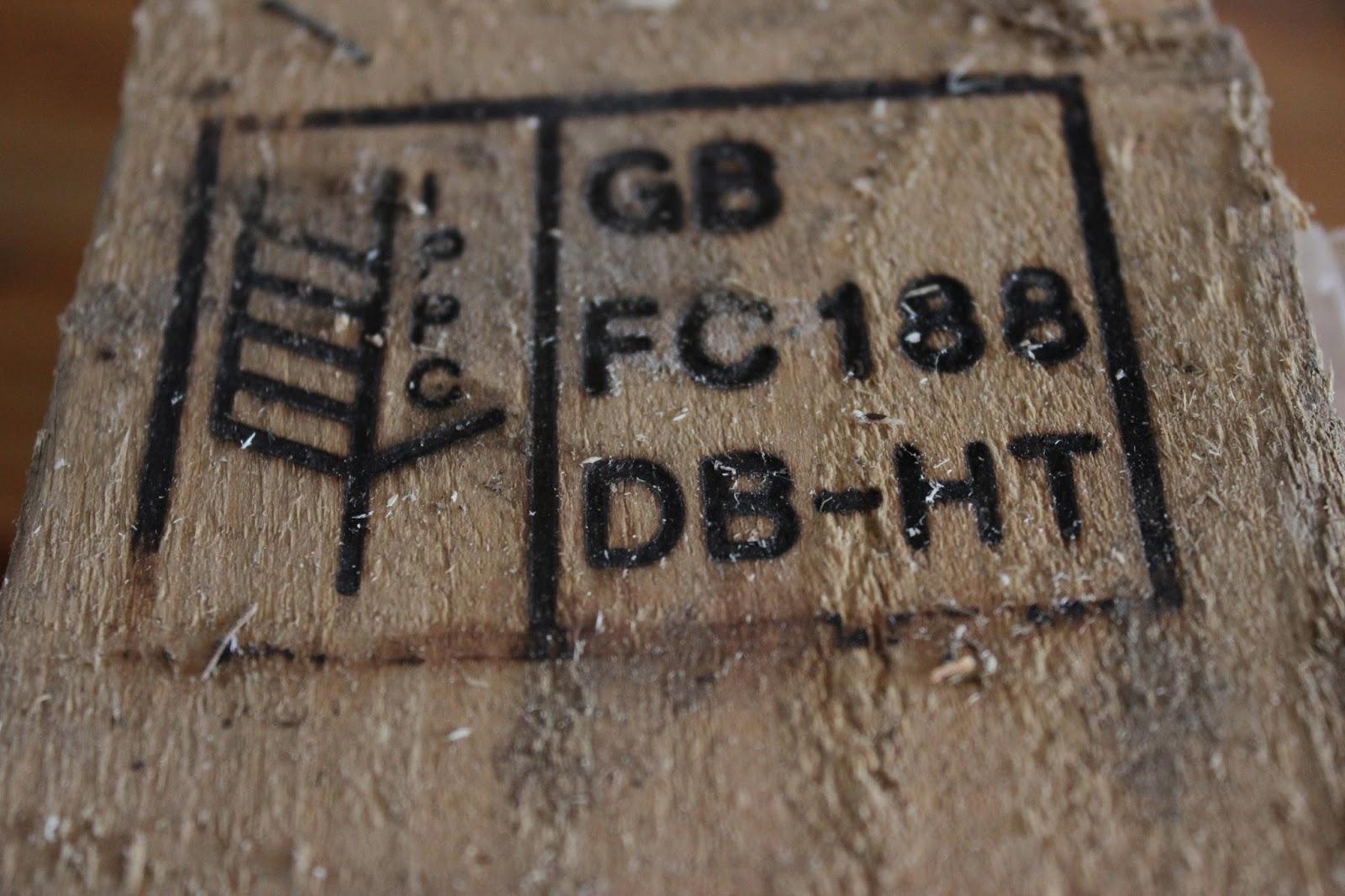 ippc logo wooden pallet