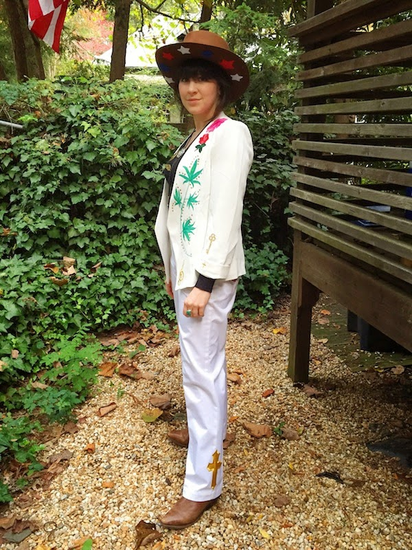 Gram Parsons Halloween Costume Nudie Rodeo Suit Gilded Palace of Sin