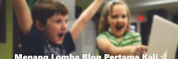 Menang Lomba Blog Pertama Kali : Permulaan yang Baik di Tahun 2020