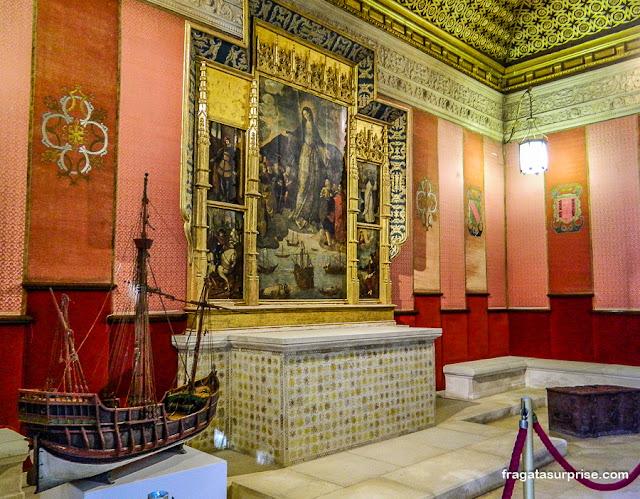 Casa de Contratação, Real Alcázar de Sevilha
