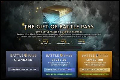 harga battle pass 2020
