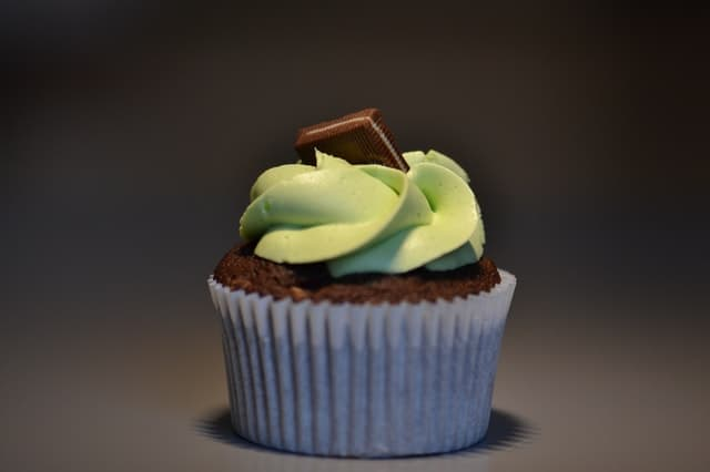 Cupcake with Nutella