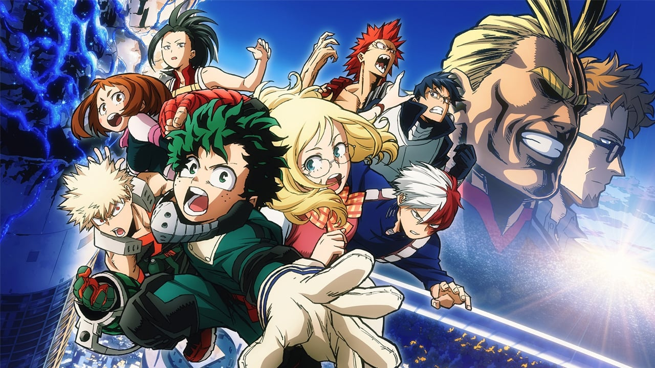 Boku no hero academia movie futari