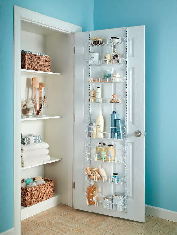 small bathroom storage and organization tips
