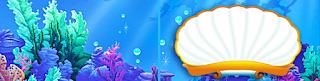 Cumpleaños de la Sirenita: Etiquetas para Candy Bar para Imprimir Gratis.