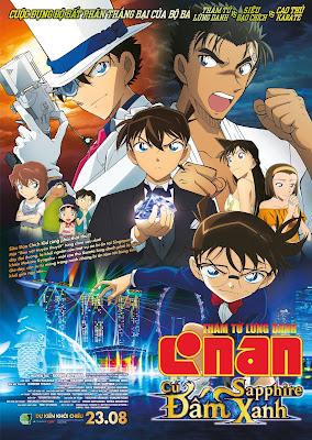 Xem Phim Thám Tử Lừng Danh Conan: Cú Đấm Sapphire Xanh