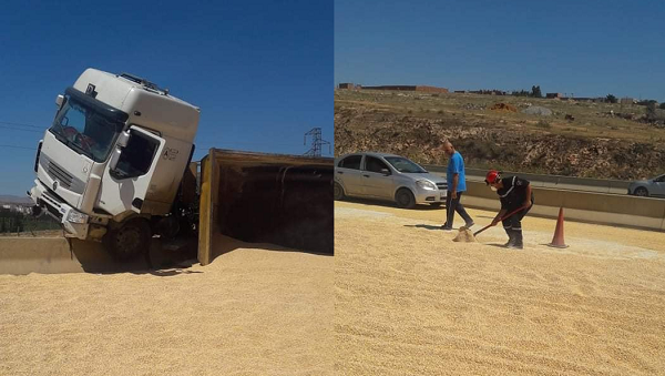 حادث مرور خطير بالطريق السيار ببوقادير