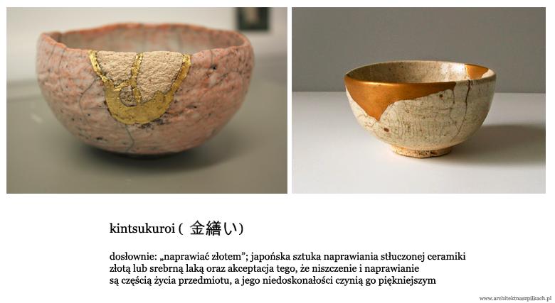 wnętrza wabi-sabi, kintsukuroi, japońska sztuka