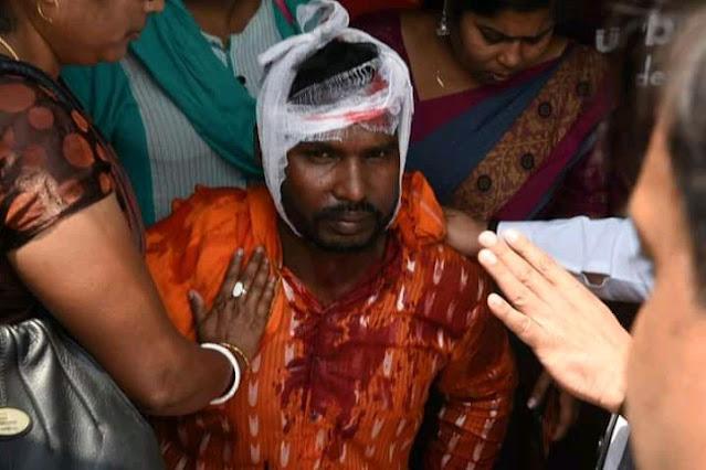 आज सोनाचुरा नंदीग्राम में भाजपा की रैली पर टीएमसी के गुंडों द्वारा पत्थरबाज़ीकी गई है इसमें बीजेपी के कई कार्यकर्ता घायल हुए हैं।
