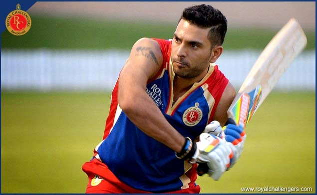 Rcb Hd Wallpapers Free Download T20 Ipl 2014 New Rcb Player Yuvraj Singh Hd Wallpapers And