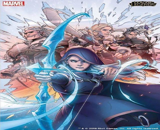 Riot Games y Marvel  han anunciado los cómics oficiales de League of Legends