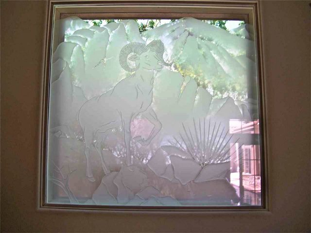 How to Frost GLASS WINDOWS