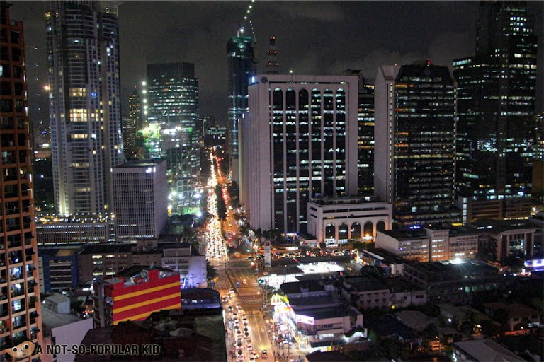 View from Encima Roofdeck of Makati, Poblacion