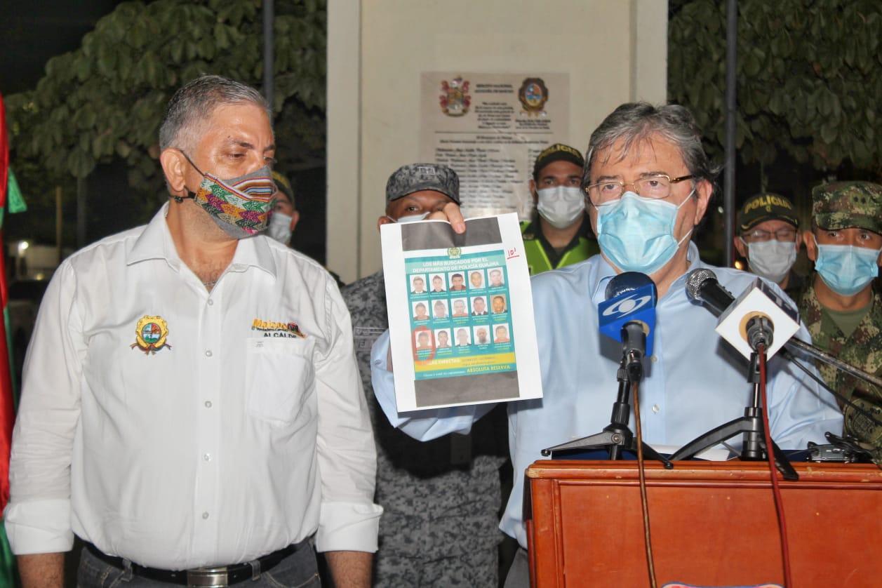 https://www.notasrosas.com/Por asesinato de ocho personas en Maicao, mindefensa lidera Consejo Extraordinario de Seguridad