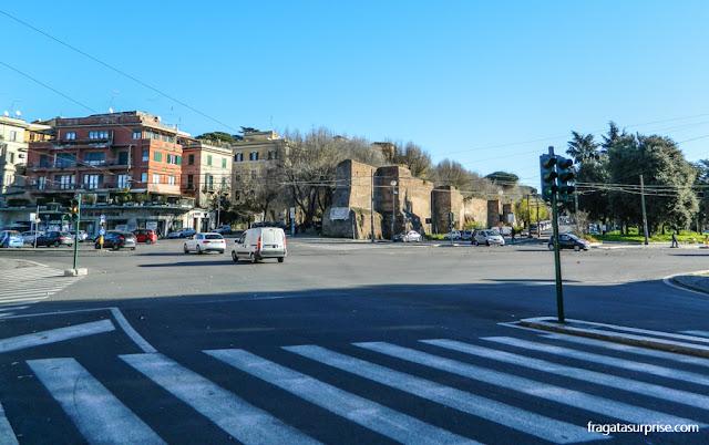 Muralha Aureliana, Roma