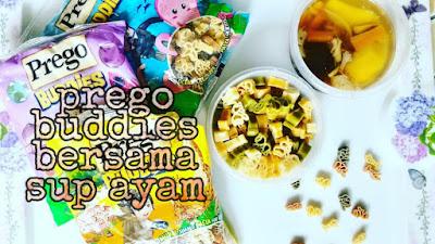 Prego buddies pasta ni yummy for kids
