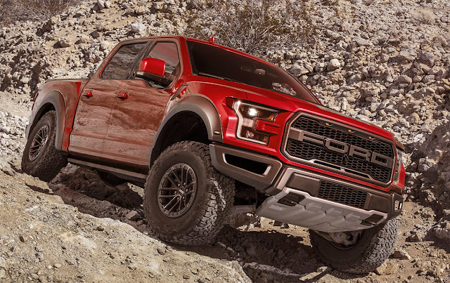 ford-f150-raptor-red-offroad-wallpaper