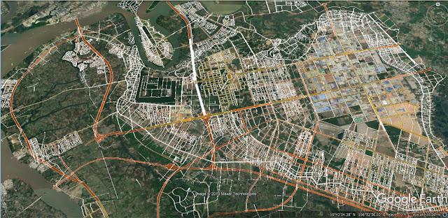 Mạng lưới quy hoạch giao thông ở Nhơn Trạch