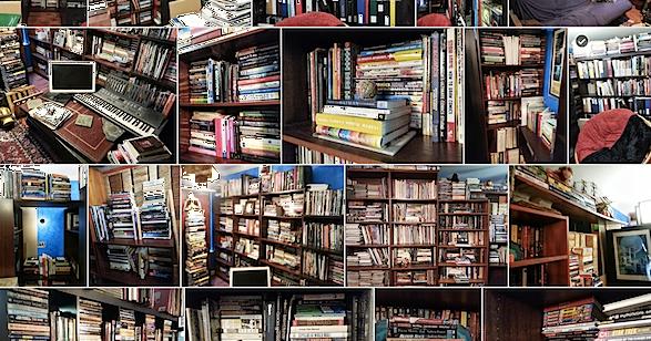 Muffige Bücher