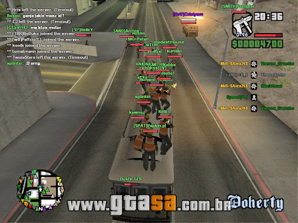 SA-MP - San Andreas Multiplayer para GTA San Andreas