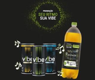 Promoção Seu Ritmo Sua VIBE Energético 2020 Junte Tampinhas Troque Caixa de Som V!BE