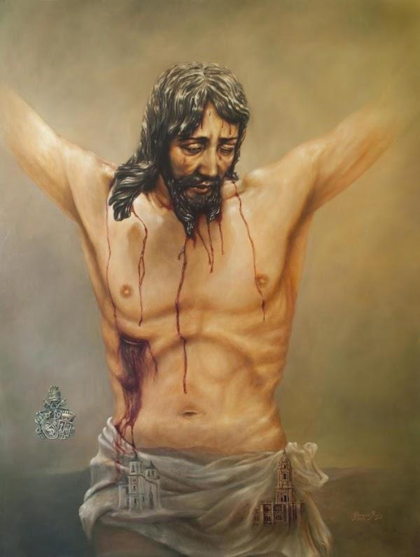 Presentado el Cartel del Miércoles Santo de 2020 de la Archicofradía de la Sangre de Málaga