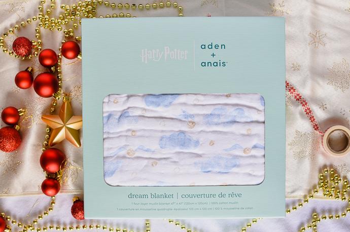 Harry potter gift guide, aden + anais, Harry Potter blanket