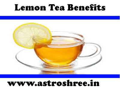 why to take lemon tea by astrologer
