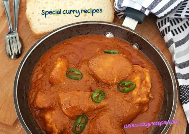 3 Special curry recipes that will make you a great fan