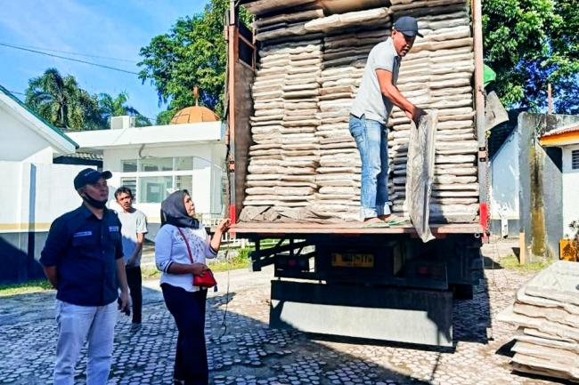 KPU Labuhanbatu Menerima Perlengkapan Logistik Pilkada 2020 Secara Bertahap