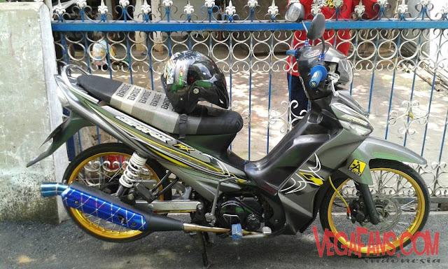 Vega ZR Modif Thailook Abu Abu Spark