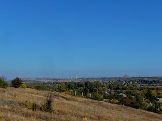 Новгородское. Вид с горы